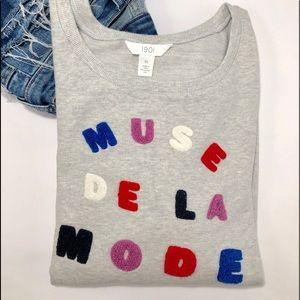 NEW🌟1901 Muse de La Mode Graphic Sweatshirt